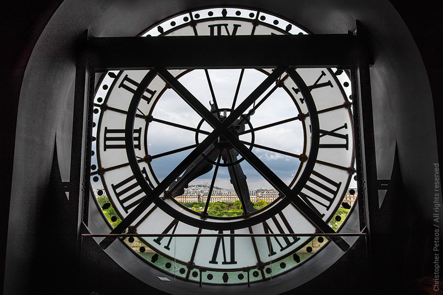 D'Orsay Clock View