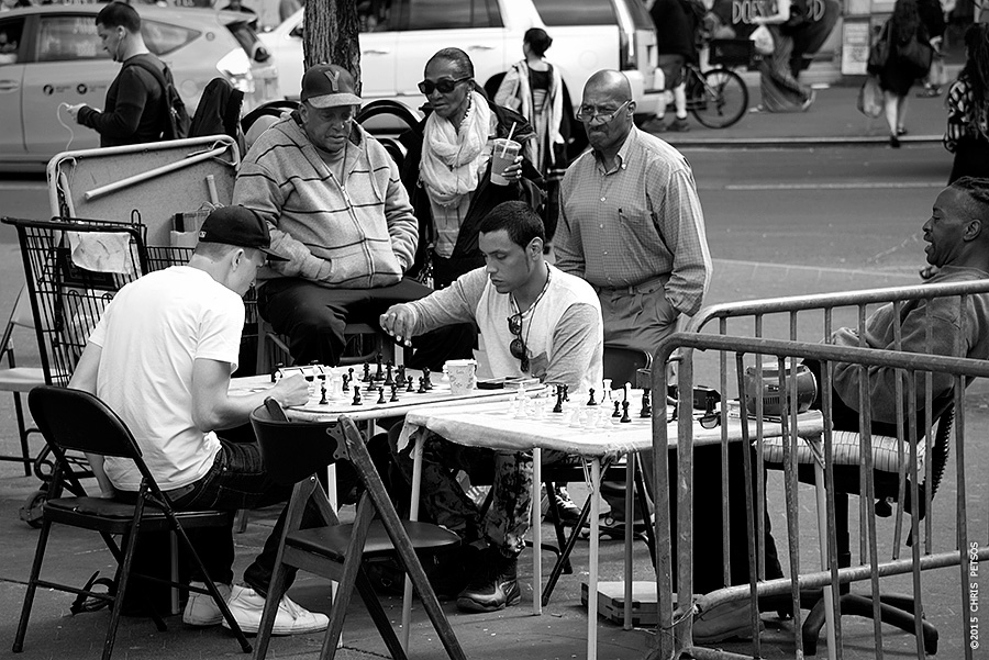 Chess in Union Square #1