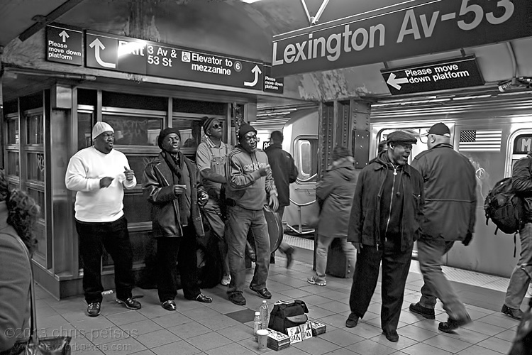 Lexington/53rd St. Subway Performers